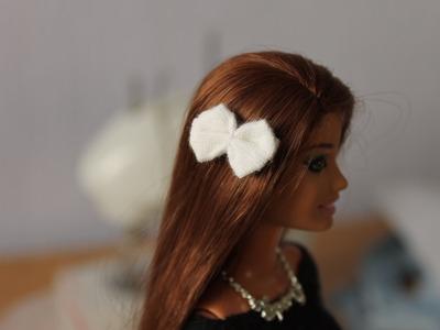 How to make Barbie bow - Tutorial