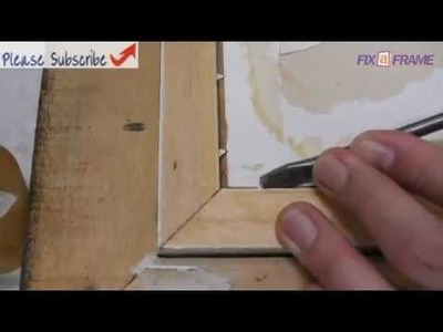How To Remove Old Picture From A Picture Frame