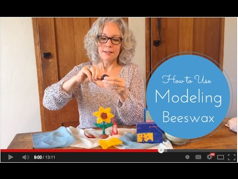 How to Use Waldorf Modeling Beeswax - Tutorial