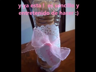 Idea para empacar galletitas