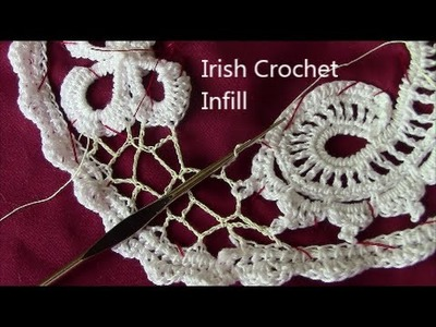 Irish Crochet Basics, Background infill