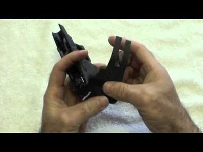 JBG Gun Grips - Installation on a polymer frame handgun.