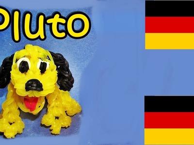 Loom Bandz Anleitung Deutsch Pluto. Hund, (Loom Bands Deutsch Tiere, Rainbow Loom Deutsch)