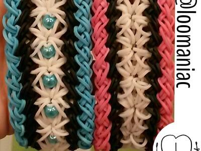 New! Dogwood Bracelet on Rainbow Loom