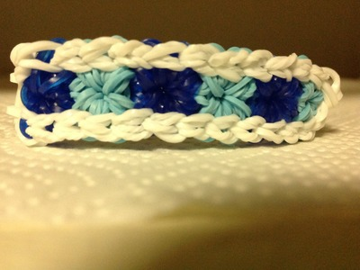 *NEW!* How to make a Compact Starburst Rainbow Loom Bracelet!