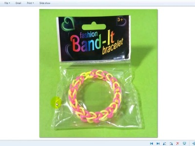 OVERPRICED Rainbow Loom Rubber Band Bracelet from Wal Mart, Generic Twistz Bandz