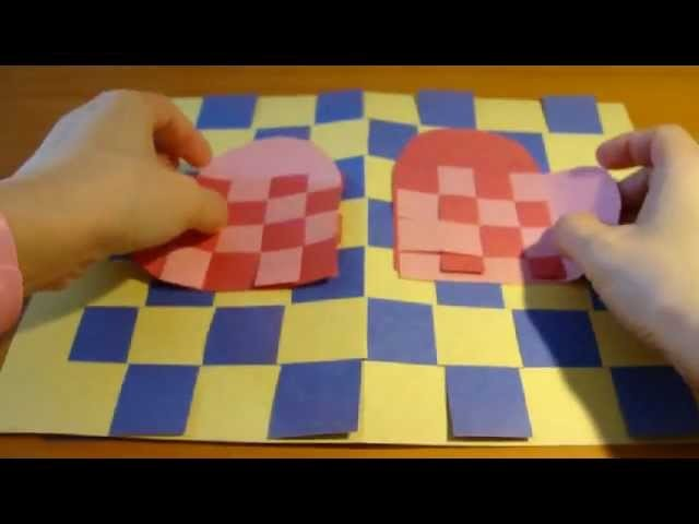 Paper Heart Mat ~ How to make one and punish it
