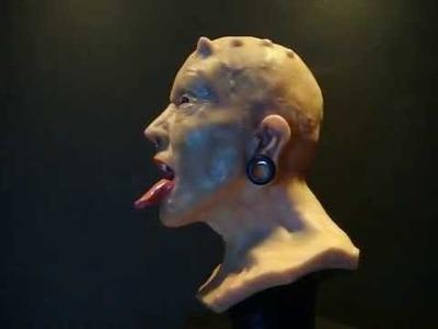 Polymer clay bust sculpt