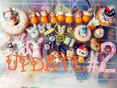 ♠ Polymer Clay Creations.Charms ♠ Update #2