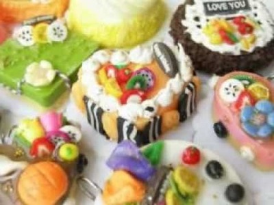 Polymer Clay Food: Sweets, Cakes, and more! (Food 1)