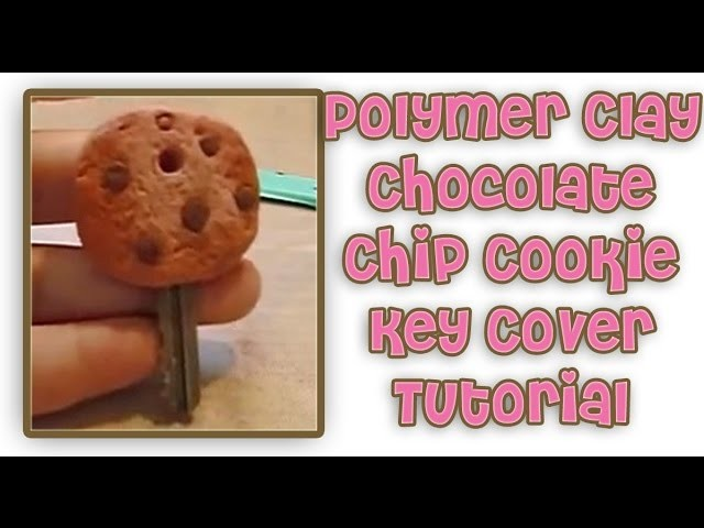 Polymer Clay Tutorial: Chocolate Chip Cookie Key Cap Cover