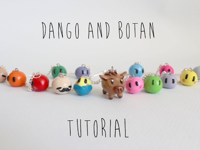 Polymer Clay Tutorial: Dango and Botan Necklace (Clannad)