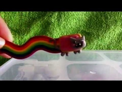 ♥ Polymer Clay Tutorial - Nyan Cat (request) ♥