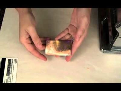Polymer Clay TV Creating Jones Tones Crackle Finish