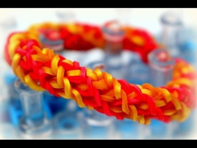Rainbow Loom Armband Bracelet Anleitung deutsch Loom Bands Loom Bandz