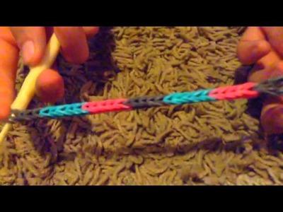 Rainbow Loom Bracelet Barefoot Sandles (ADVANCED)
