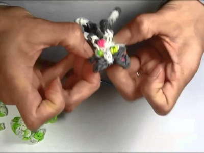 Rainbow Loom: CAT Charm (loom bands Animals, Kitty, Kitten)
