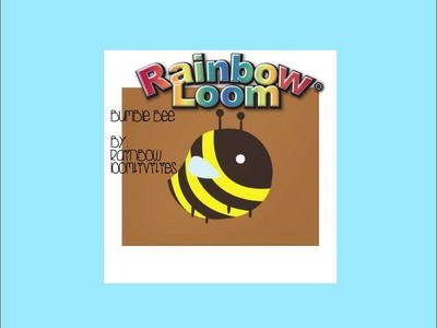 Rainbow Loom Cute (Kawaii) Bumble Bee