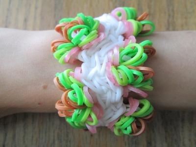 Rainbow Loom- Glorioso Bracelet (Original Design)