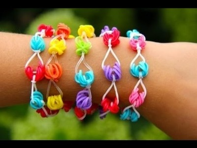 Rainbow Loom - Honolulu Bracelet (Original Design) English Version - Loom bands