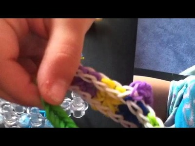 Rainbow Loom - How To Make A Starburst glove