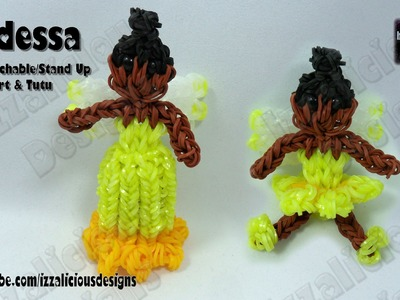 Rainbow Loom - Iridessa Fairy Action Figure.Charm - © Izzalicious Designs 2014 -Gomitas