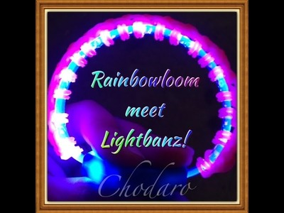 Rainbow loom Light Show Bracelet
