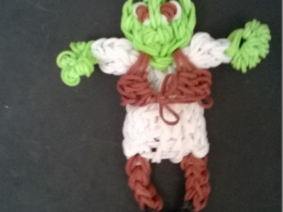Rainbow Loom Shrek Tutorial Part One