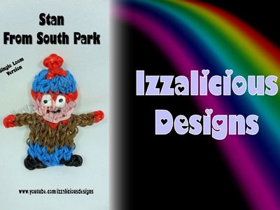 Rainbow Loom Stan from South Park Action Figure.Charm - Gomitas