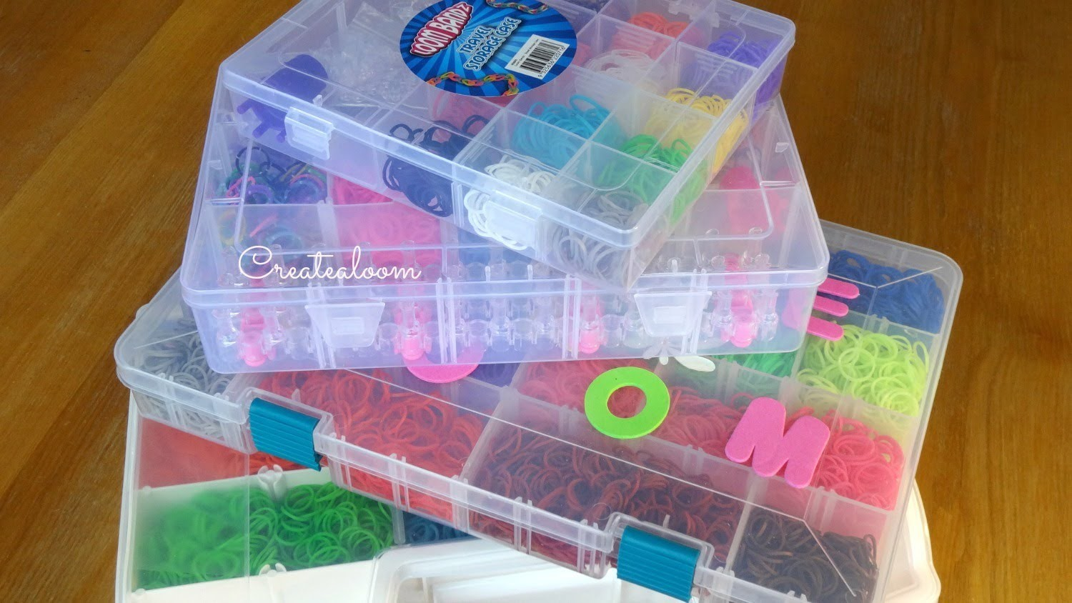 Rainbow Loom Storage Box Collection ~ HD WATCH IN HD ~