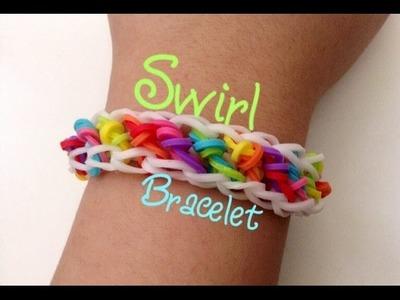 Rainbow Loom Swirl Bracelet NEW ORIGINAL DESIGN