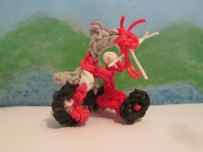 Rainbow Loom Tricycle Charm. 3D Bike. Radio Flyer.