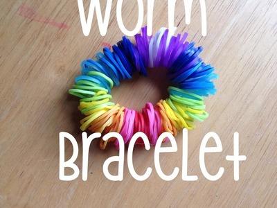 Rainbow Loom | Worm Bracelet