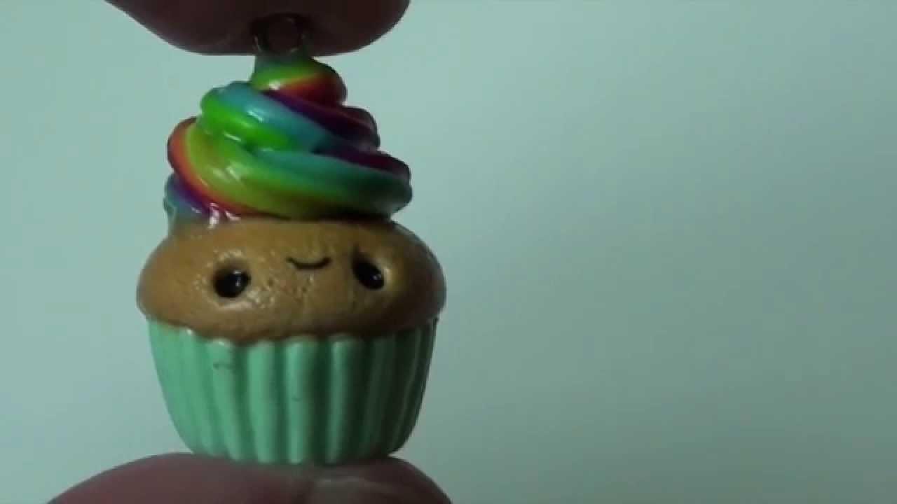 Simple Kawaii Polymer Clay Cupcake Tutorial