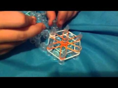 Starburst rubber band ring