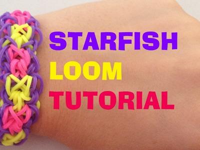 STARFISH loom bracelet Tutorial Rainbow Loom l JasmineStarler