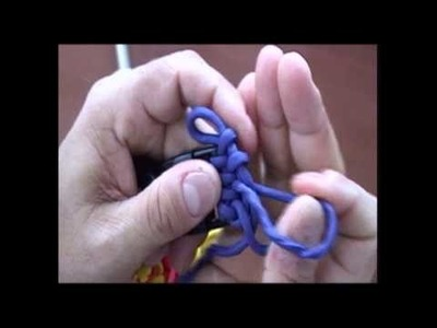 The Paracord Weaver: How To - Starting the Slatt's Rescue Weave Part 1 of 2