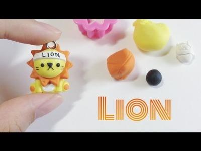 Tutorial : Polymer Clay Cute Lion
