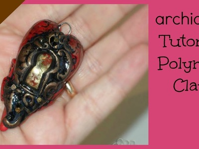Tutorial Polymer Clay | Locked Hearts | Cuori con Serratura LOOK EDITED VIDEO LINK IN THE INFO BOX