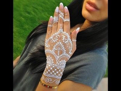WHAT IS WHITE HENNA? WHERE TO BUY?HOW TO USE