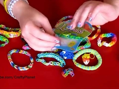 CUTE TURTLE Rainbow Loom Rubber Band Haul - Rubber Band Bracelets, Rings, Charms, Designs Wal Mart