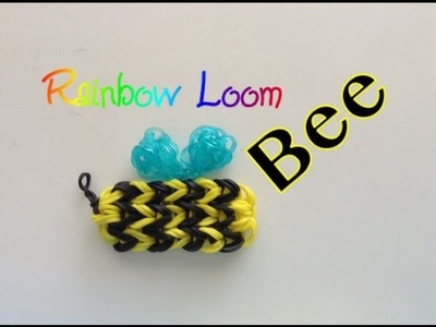 EASY Rainbow Loom Bee Charm