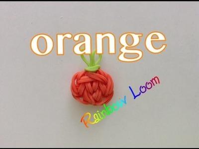 EASY Rainbow Loom Orange Charms