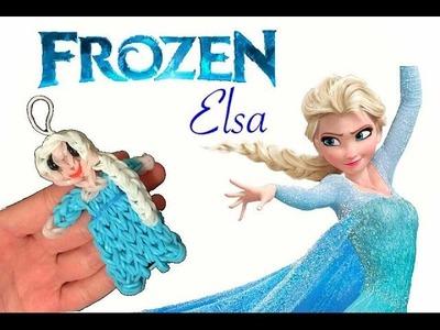 Frozen Elsa con elastici rainbowloom elsa frozen rubber bands