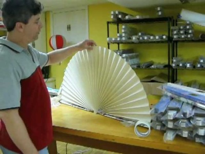 How to hang or stand your Neat Pleats decorative fan