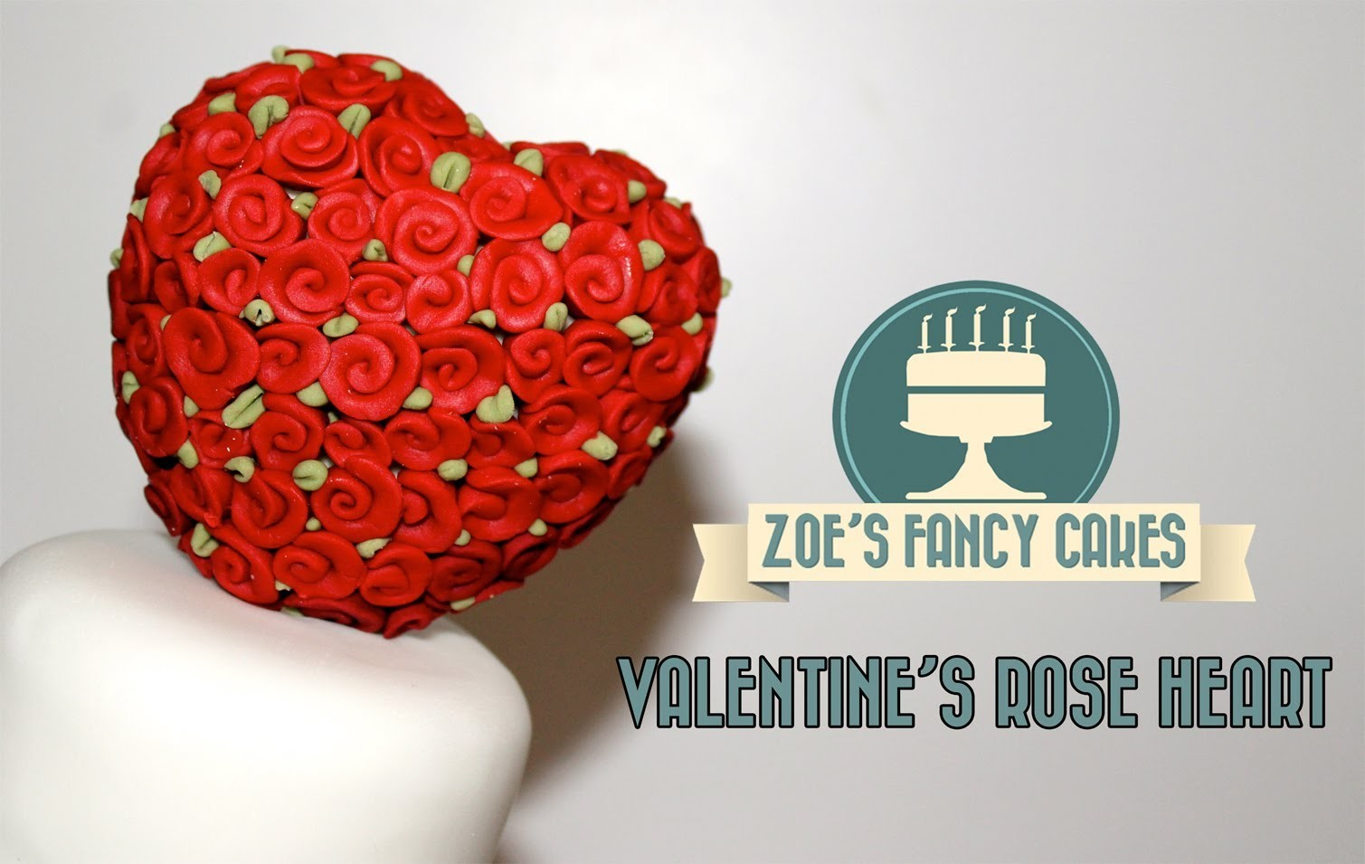 How to make a valentines rose heart cake decorating and icing valentines How To Tutorial