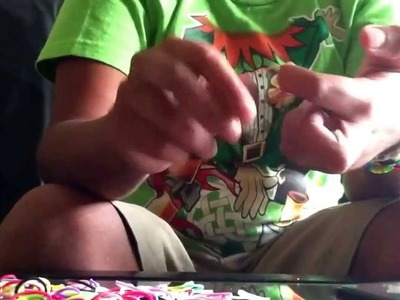How to make Rainbow Loom Handcuffs!