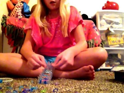 How to make rainbow loom stuff !