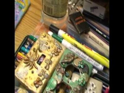 Making Light Switch Plates from Polymer Clay Part 1