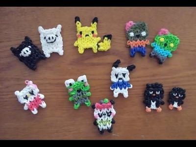 My Rainbow Loom Kawaii Characters Creations!